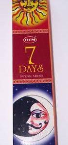 Betisoare parfumate - Feng Shui - 7 zile - 7 days