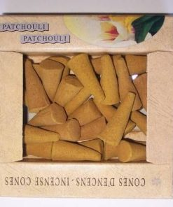 Conuri parfumate - set - aroma de patchouli