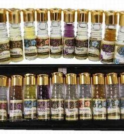Set de 12 uleiuri concentrate de aromaterapie si masaj