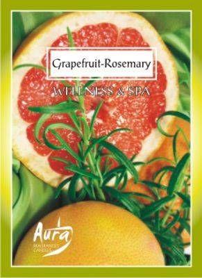Set de sase lumanari - Grapefruit rosu