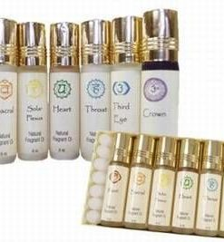 Set de uleiuri pentru aromaterapie, cu cele 7 chakre