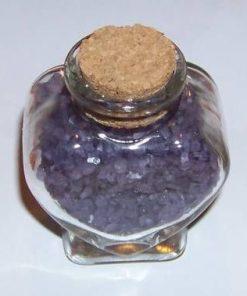 Sticluta cu sare de baie - aroma de lavanda