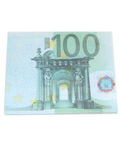 Blocnotes cu euro pentru ritualuri de bani