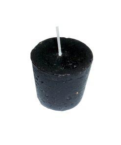 Lumânare conică neagră – 4 cm lungime