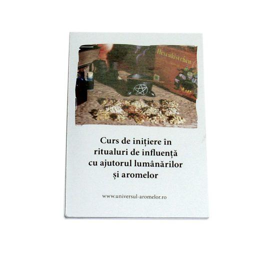 Curs de inițiere în ritualuri de influență cu ajutorul lumânărilor și aromelor - broșură explicativă