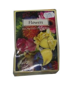 6 lumanari cu arome de flori