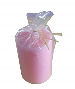 Lumanare roza tip cilindru