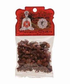 Rășină / tămâie pentru fumigație - chakra - Manipura