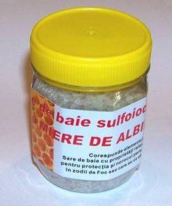 Sare de baie sulfiodurată cu miere de albine