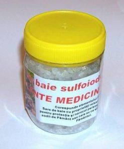 Sare de baie sulfiodurată cu plante medicinale