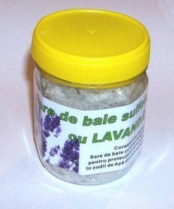 Sare de baie sulfiodurată cu lavandă