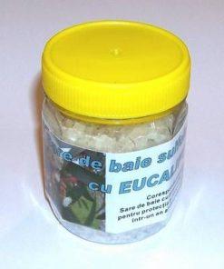 Sare de baie sulfiodurată cu eucalipt