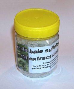 Sare de baie sulfiodurată cu extract de ulei de brad