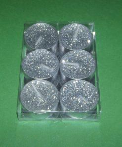Lumanare argintie XL