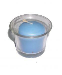 Lumanare albastra pentru sfesnic