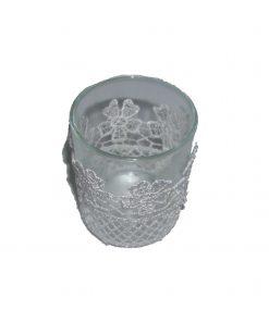 Suport de lumanare din sticla