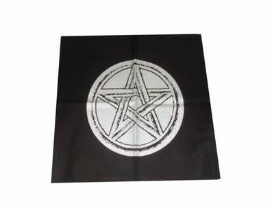 Fata de masa pentru altar cu pentagrama